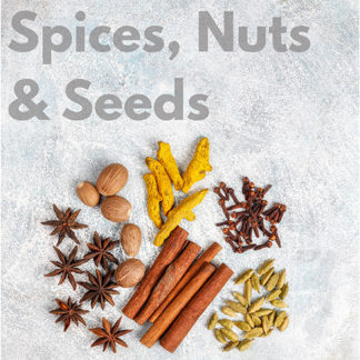 Spices, Seeds & Nuts